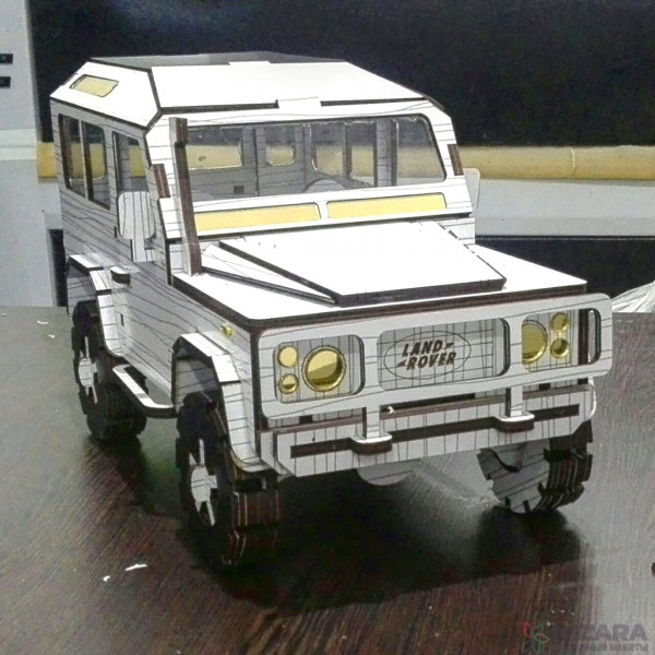 3D-модель Land Rover Defender
